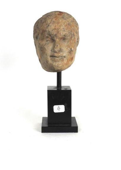 Tête présumée de Ptolémée XII, Pharaon Lagide,...