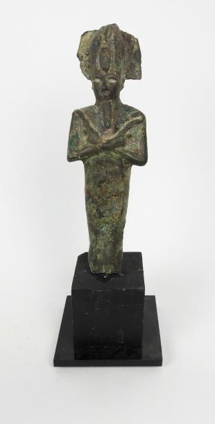 Osiris. Bronze Basse Époque. En l'état H:...
