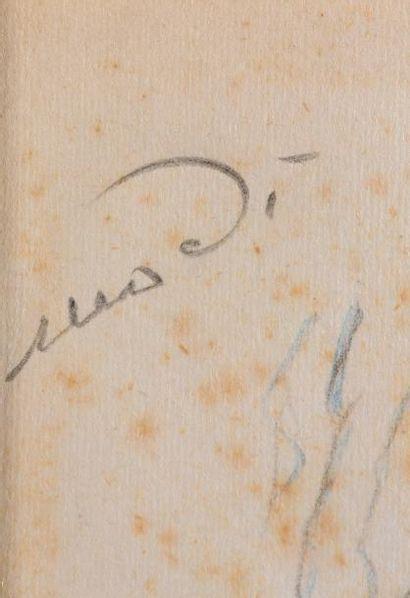Tableaux modernes Amedeo Modigliani (1884-1920)  Nu, 1915  Crayon et aquarelle sur...