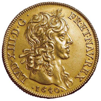 Louis XIII. Quatre Louis 1640 A. Paris. A/...