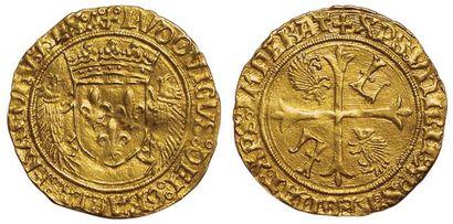 Louis XII. Ecu d'or au porc épic. Aix en...