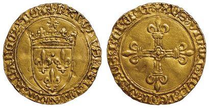 Charles VIII. 1483-1498. Ecu d'or au soleil....