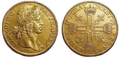 Louis XIII. 1610-1643. Huit Louis 1640 A....