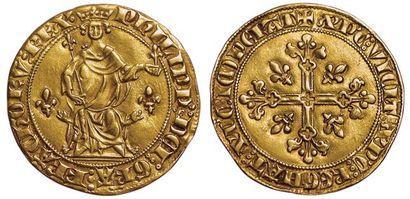 Philippe IV. 1285-1314. Florin d'or à la...