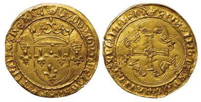 Louis XI. 1461-1483. Ecu d'or à la couronne....