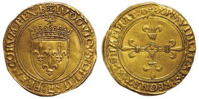 Louis XII. 1498-1514. Ecu d'or au soleil....