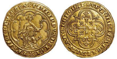 Philippe IV. Denier d'or à la masse (Masse...