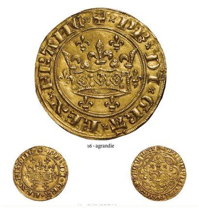 Philippe VI. Couronne d'or. A/ + Ph DI GRA...