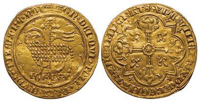 Jean II le Bon. 1350-1364. Mouton d'or. A/...