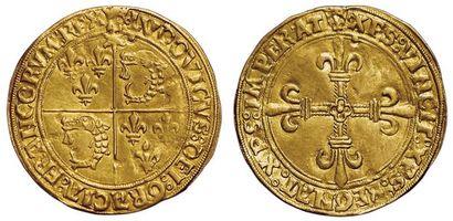 Louis XII. Ecu d'or du Dauphiné. Crémieu....