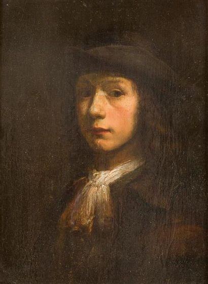 Dans le gout de Jacobus LEVECQ Portrait de...