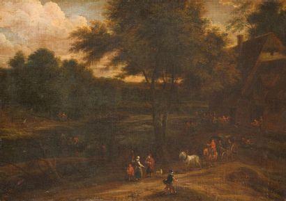 Pieter BOUT (1658 -1719) et Adriaen BOUDEWYNS...