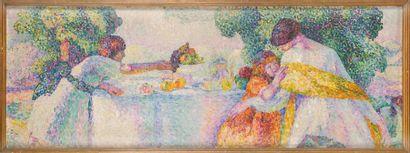 Charlotte CHAUCHET-GUILLERE (1878-1964) L'après-midi...