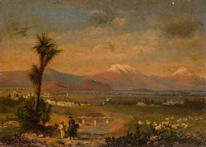 Conrad Wise CHAPMAN (1842-1910) Vallée de...