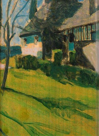 Emile-Jacques RUHLMANN (1879-1933) La maison...