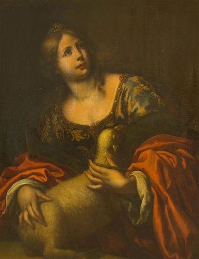 Attribué à Onorio MARINARI (1627-1715) Sainte...