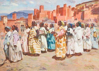 Jacques Majorelle (1886-1962) La promenade...