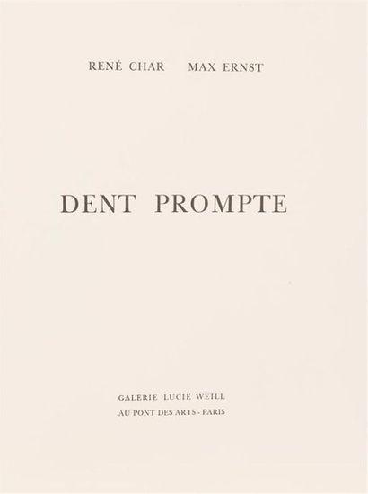 Max ERNST - René CHAR