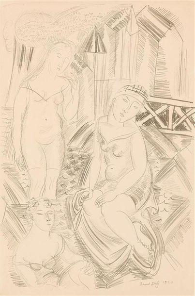 Raoul DUFY (1877 - 1953) Baigneuses,1920...