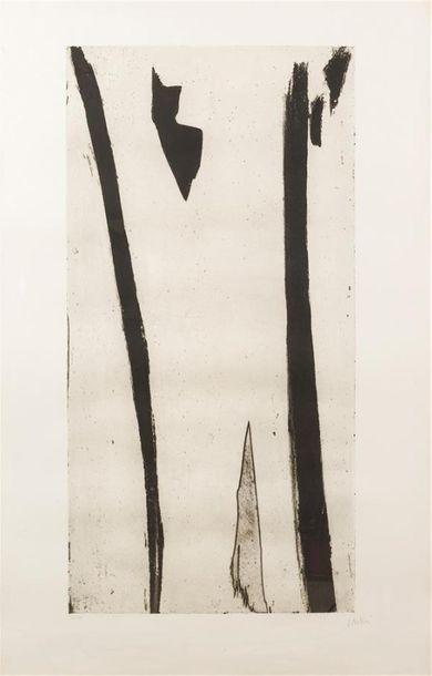 Olivier DEBRE (1920-1999) Grand signe personnage...