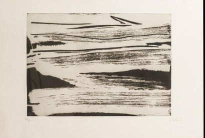 Olivier DEBRE (1920-1999) Signe paysage -...