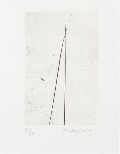 André MARFAING (1925-1987) Sans titre pour...