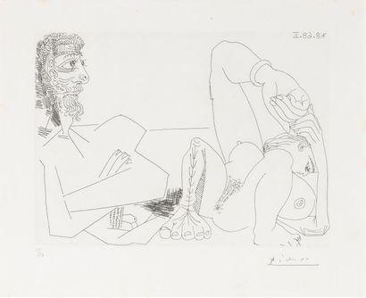 Pablo PICASSO (1881 - 1973) LA SIESTE. 7...