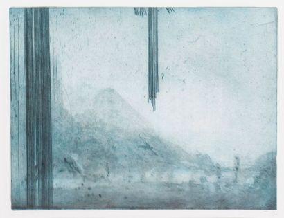 Emmanuel GATTI (contemporain) Descente de...
