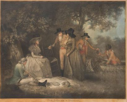 D'APRES GEORGE MORLAND (1763-1804) The Angler's...