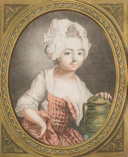 D'APRES LOUIS MARTIN BONNET (1743-1793) The...