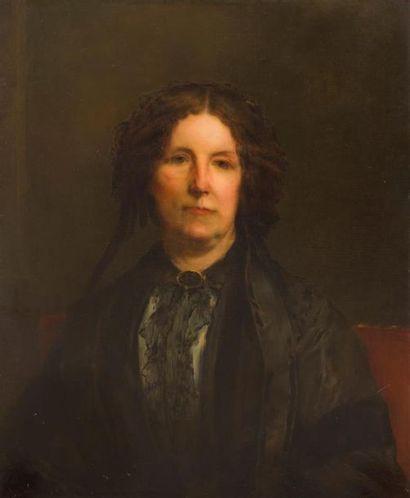 GUSTAVE RICHARD (XIXème SIECLE) Portrait...