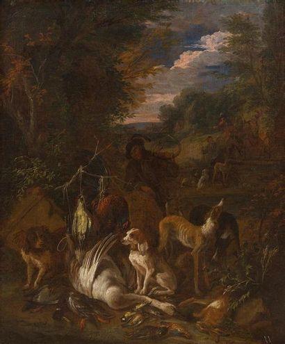 ADRIAN DE GRIEF (1657-1722) Nature morte...