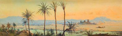 PIERRE FAGET GERMAIN (1890-1961) Paysage...