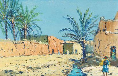 PIERRE FAGET-GERMAIN (1890-1961) Paysage...