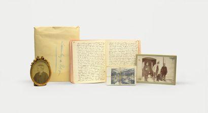 Manuscrit - Voyage ARCTIQUE - ORLÉANS (Louis...