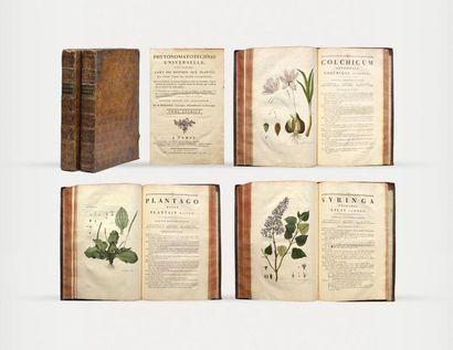Botanique BERGERET (Jean-Pierre) Phytonomatotechnie...