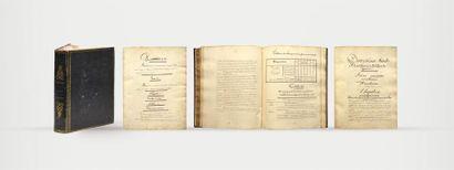 Manuscrit ARTIFICES MILITAIRES Superbe manuscrit...