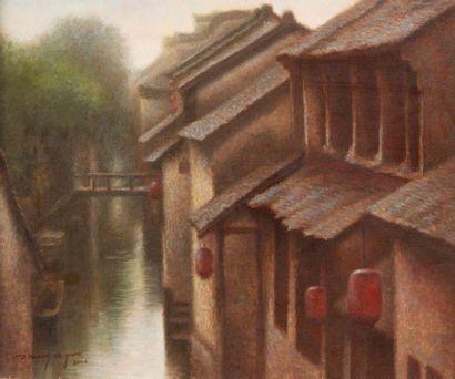 Zhuang de Yuan École Chinoise contemporaine...