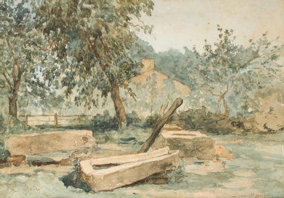 Léonce CHABRY (1832-1882) Au Coca - Saint...