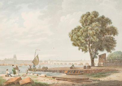 D'APRÈS J. BRASCASSAT (1804-1867) Bordeaux....