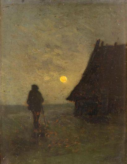 Félix Eugène CANTEGRIL (18461914) La rentrée...