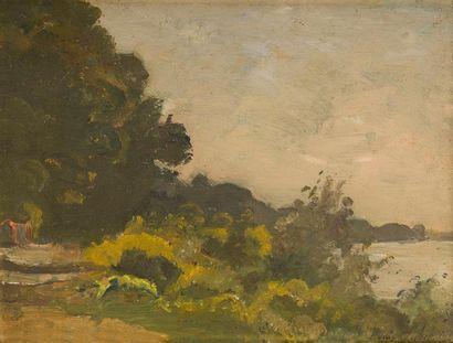 Louis-Alexandre CABIÉ (1854-1939) Paysage...