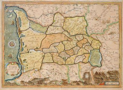 GUYENNE Carte générale de Guyenne du XVIe...