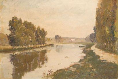 Louis-Alexandre CABIÉ (1854-1939) Bord de...