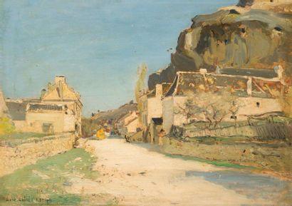 Louis-Alexandre CABIÉ (1854-1939) Les Eyzies....
