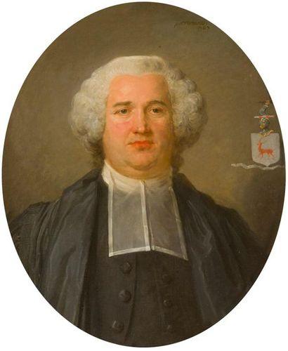 Jean-Baptiste PERRONNEAU (1715-1783) Portrait...