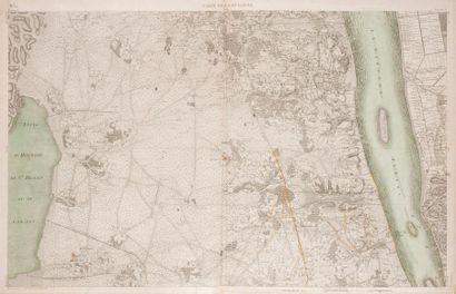 Pierre DE BELLEYME Carte de la Guyenne. Carte...