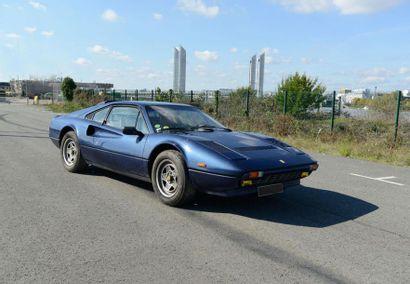 Une Berlinette 2 places de marque Ferrari...