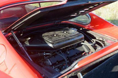 Une Berlinette 2 places de marque Ferrari type Dino 246 du 10/07/1974 de couleur...