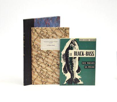 BLACK-BASS  Réunion de 3 publications sur...